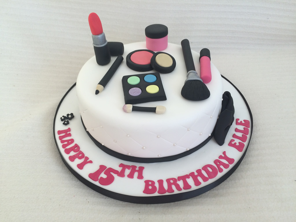 Make Up Birthday Cake Cake Creations