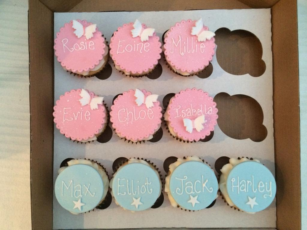 Personalised Wedding Favours for Children – Cake Creations