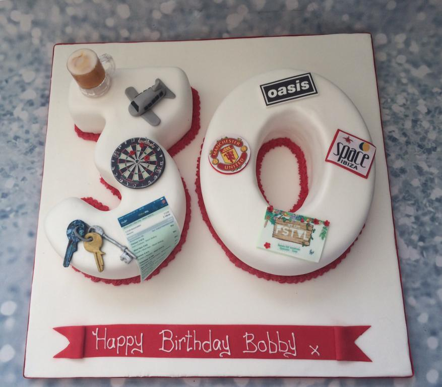 Double Number Favourite Things Cake Cake Creations