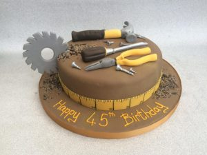 Workman tools cake