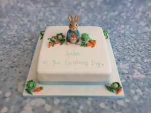 Peter rabbit christening