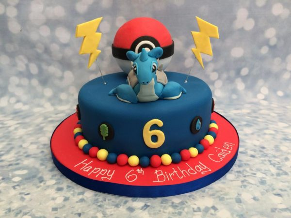 Pokemon Laprus cake