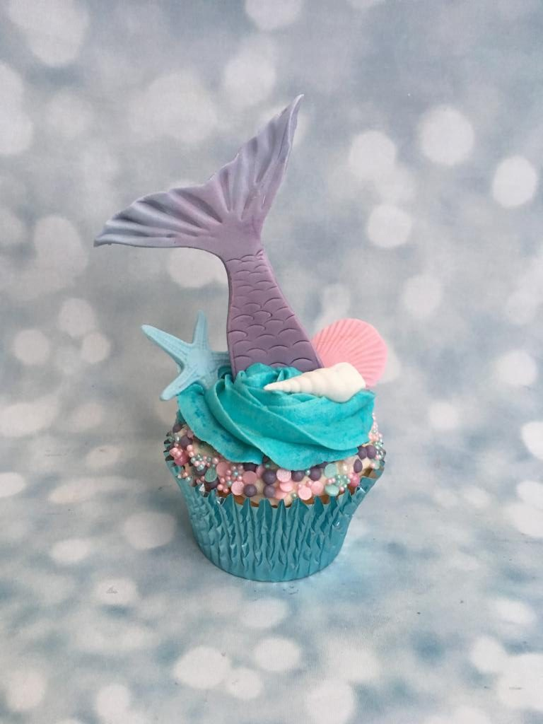 Mermaid Tail Cupcakes Cake Creations