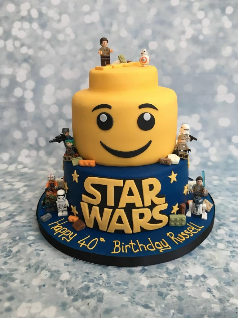 Star Wars Lego Cake – Cake Creations